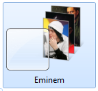 Тема Eminem для Windows 7