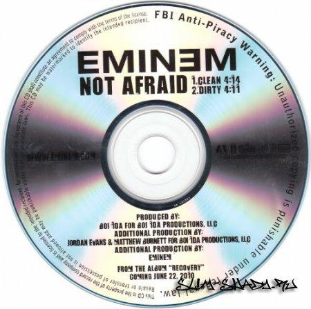 Eminem - Not Afraid (Promo CDS) (2010)