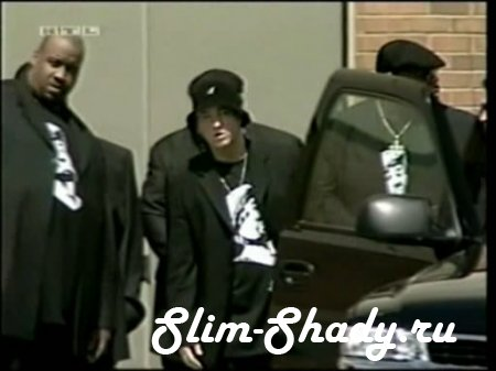 RTL Exclusive - Eminem at Proof s funeral