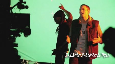 "Lil Wayne Feat. Eminem -  Making of ""Drop The World"" 720р"