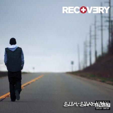 """2 официальные обложки альбома """"Recovery""""."""